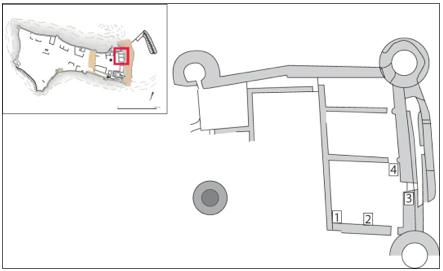 Fig.2 localisation des interventions