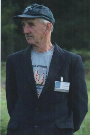 René Didion lors d'une animation sur le site qui lui fut si cher.